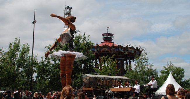 La danseuse de la compagnie Antigua i Barbuda