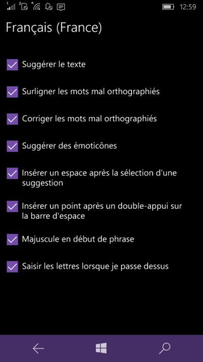 suggestion emoji windows mobile 10