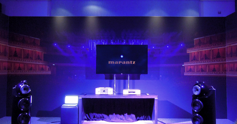 demo home cinema marantz