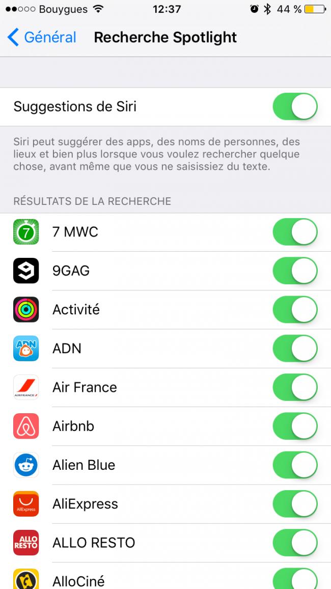 activation Siri iOs