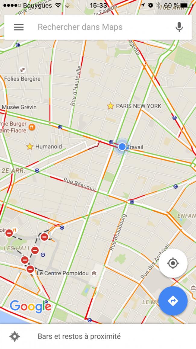 google Maps pour iOS