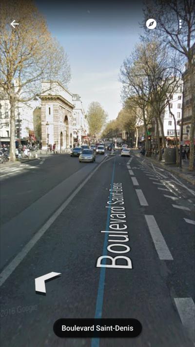 Google StreetView pour iOS