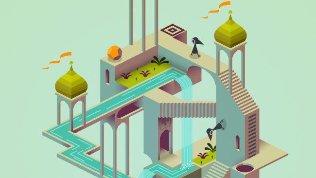 jeu Monument Valley sur iOS