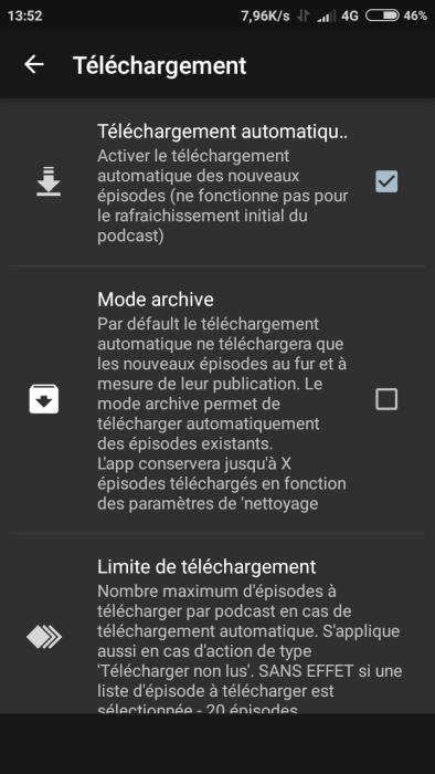 podcast addict téléchargement