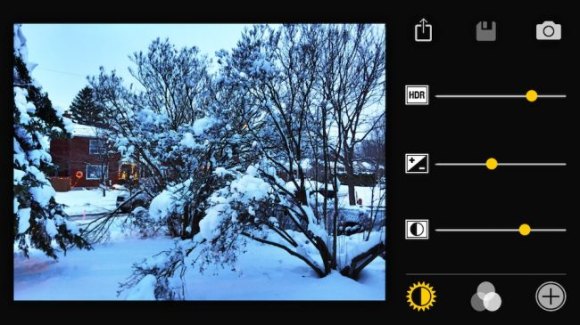 Pro HDR X pour iOS