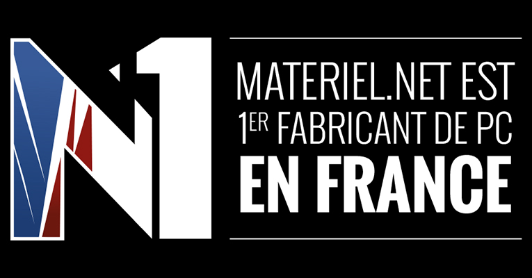 Materiel.net : 1er fabricant de PC en France