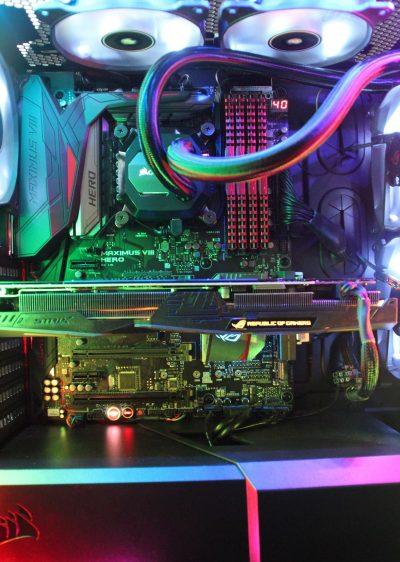 intérieur PC