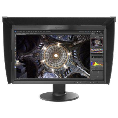 Ecran PC graphisme Eizo ColorEdge CG248-4K + Visière + Sonde