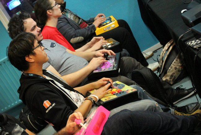 A la Nantarena, le retro-gaming a le droit de cité (cliquez pour zoomer).