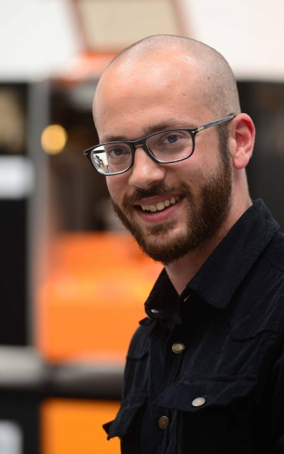 Olivier Daïrien, FabManager