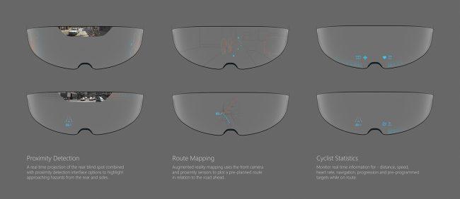 verres du casque RA Optic