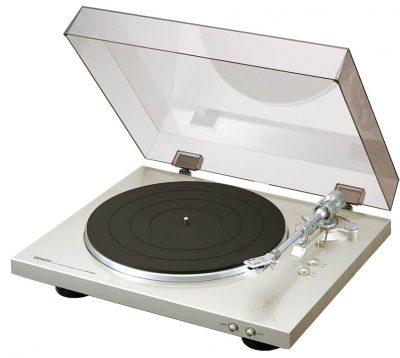 platine disques vinyle denon dp 300f silver