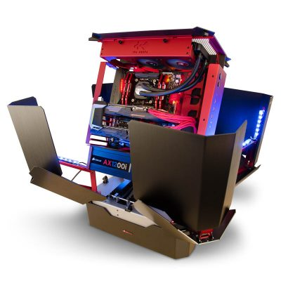 PC gamer optimus ouvert