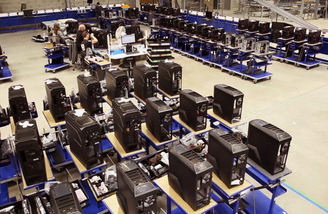 L'atelier de montage PC