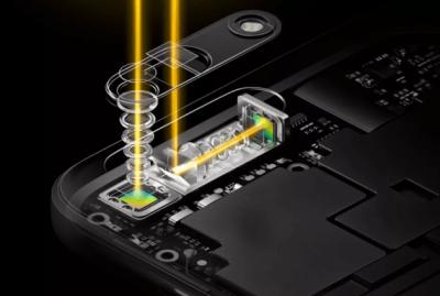 Le système de téléobjectif de l'Oppo 5x