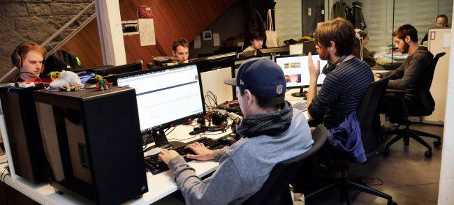 La rédaction de Gamekult en pleine action !