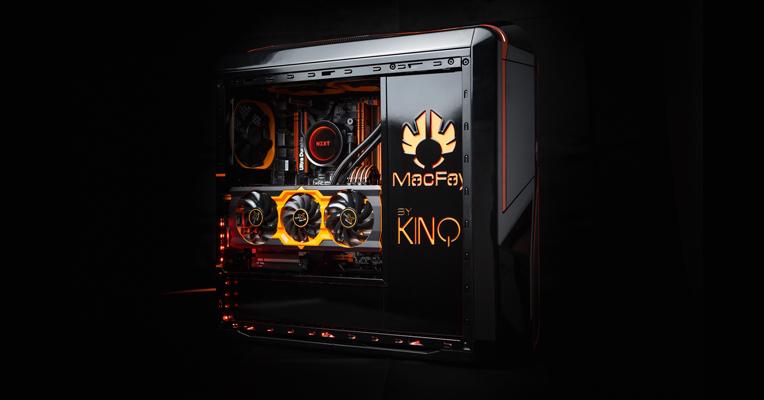Le PC moddé Black Naranja de Kino