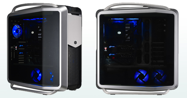 Le boîtier PC Cooler Master Cosmos 2 Edition 25th anniversary
