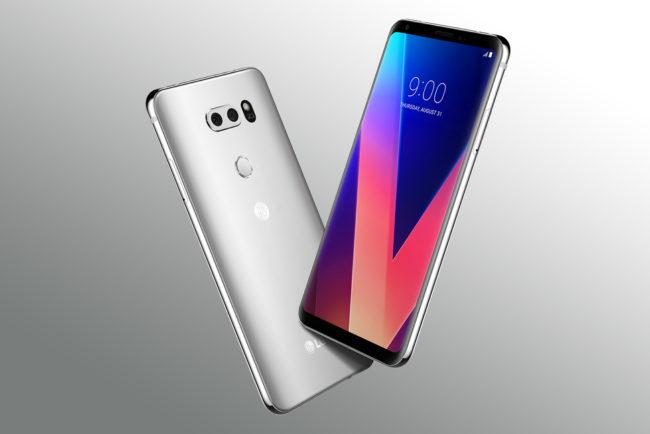 Le très prometteur LG V30