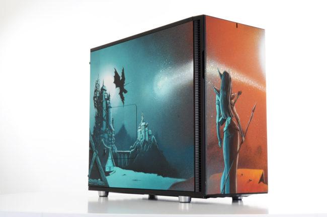 Le PC gamer Stencil par ESKAT