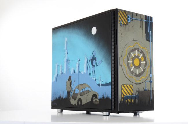 Le PC gamer Stencil par ROM