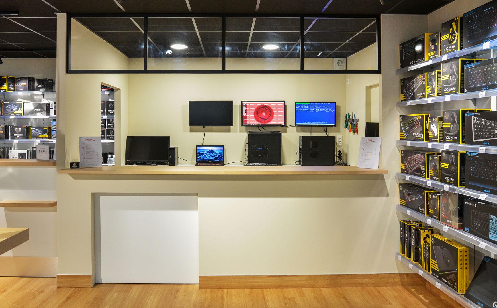 nouveau magasin de bordeaux 100 pc en gironde matblog. Black Bedroom Furniture Sets. Home Design Ideas