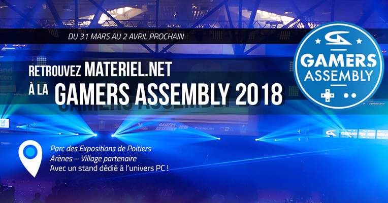 Gamers Assembly 2018 : on envahit Poitiers !