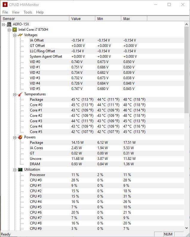 Stress Test Undervolt: Undervolt : Refroidir Son PC Portable En Quelques Clics