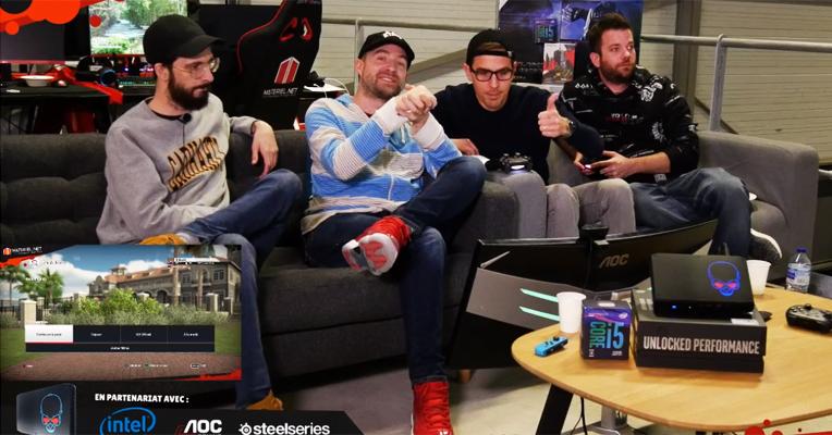 Live Gaming : le plein de bonne humeur