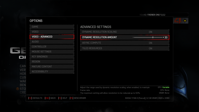 Optimiser ses options graphiques pour le jeu