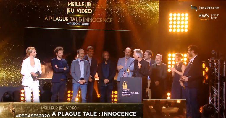 Pégases, les César du jeux vidéo et le triomphe de A Plague Tale