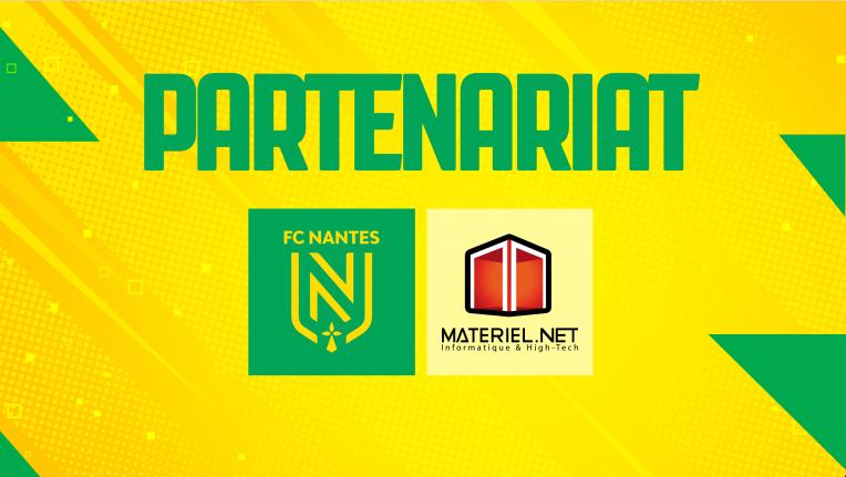 Materiel.net partenaire officiel du FC Nantes Esports