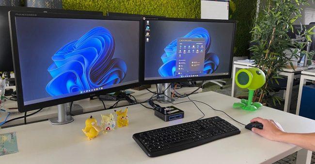 Windows 11 a été installé et testé en avant-première sur un poste du service client de Materiel.net
